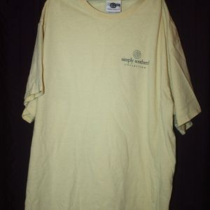 """Simply Southern Tops - Simply Southern """"Cute as a Cactus"""" Shirt L"""